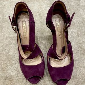 Prada high heels sandals  36 1/2 purple